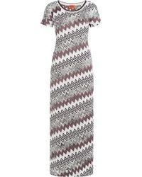 Missoni | Chevron Knit Dress | Lyst