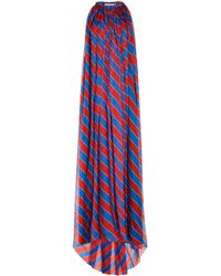 Philosophy Di Lorenzo Serafini - Printed Silk Dress - Lyst