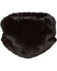 Marc Jacobs - Plush Faux Fur Collar - Lyst