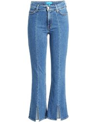 M.i.h Jeans - Marty Cropped Flared Jeans - Lyst