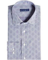 Etro - Printed Cotton Shirt - Lyst