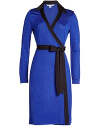 Diane von Furstenberg - Belted Dress - Lyst