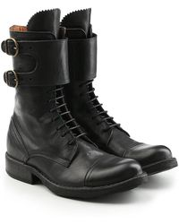 Fiorentini + Baker - Leather Boots With Lace-up Front - Lyst