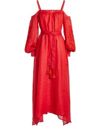 MARCH11 - Annabell Embroidered Linen Dress - Lyst
