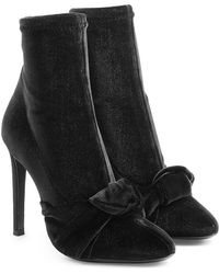 a01ac7d3a77 Giuseppe Zanotti Pointed Toe Booties - Yvette High Heel in Black - Lyst