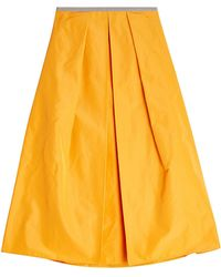 Jil Sander Navy | A-line Skirt | Lyst