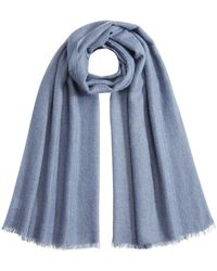 Brunello Cucinelli - Scarf With Mohair, Alpaca, Cashmere And Silk - Lyst