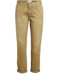 Current/Elliott - The Buddy Cotton Chinos - Lyst