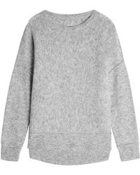 By Malene Birger - Pullover With Wool And Mohair - Lyst