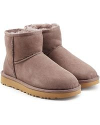 UGG - Classic Mini Suede Boots - Lyst