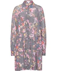 Lala Berlin - Sia Printed Dress With Silk - Lyst