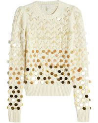 Marc Jacobs - Wool Pullover With Sequins - Lyst
