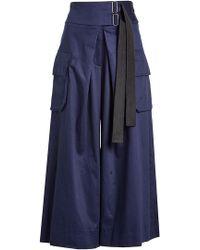 Public School - Wide-leg Cotton Pants - Lyst
