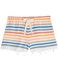 lemlem - Cotton Shorts - Lyst