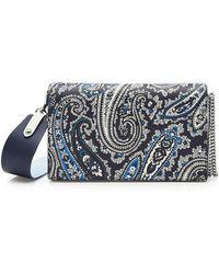 Diane von Furstenberg - Soiree Crossbody Leather Bag - Lyst