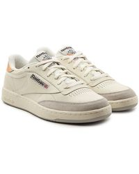 Reebok - Club C 85 Trainers With Leather - Lyst
