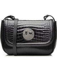 138ce83fad94 Hill & Friends - Happy Mini Embossed Patent Leather Shoulder Bag - Lyst