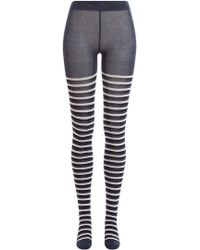 Sonia Rykiel - Striped Tights - Lyst