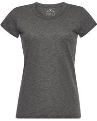 Velvet - Odelia Cotton T-shirt - Lyst