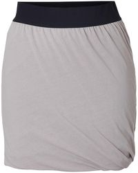 American Vintage | Cotton Twisted Drape Mini-skirt | Lyst