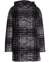 Missoni - Printed Wool Coat With Mohair And Alpaca - Lyst