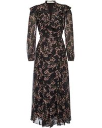 Zimmermann - Fleeting Flounce Printed Chiffon Maxi Dress - Lyst