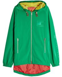 Tommy Hilfiger - Crest Zipped Jacket With Hood - Lyst