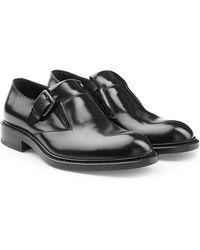 Jil Sander   Leather Monk Shoes   Lyst