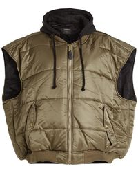 Vetements - Quilted Bomber Vest - Lyst