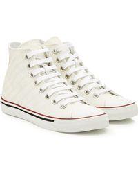 Vetements - Printed High-top Sneakers - Lyst