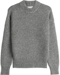 DKNY - Chunky Knit Merino Wool Pullover - Lyst