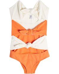 Lisa Marie Fernandez - Triple Poppy Swimsuit - Lyst