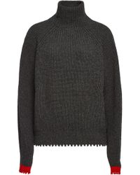 Zadig & Voltaire - Zoe Turtleneck Pullover With Wool And Yak - Lyst