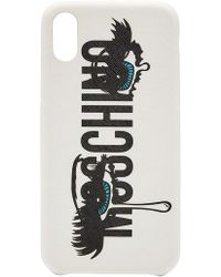 Moschino - Iphone X Case - Lyst