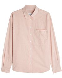 Closed - Striped Cotton Shirt - Lyst