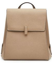Valextra - Leather Backpack - Lyst