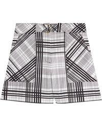 Diane von Furstenberg - Printed Shorts - Lyst