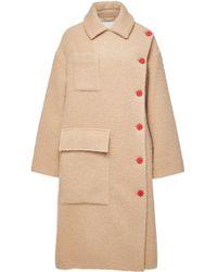 KENZO - Virgin Wool Coat - Lyst