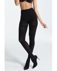 Spanx - Luxe Leg Ultra Blackout Tights - Lyst