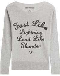 True Religion - Printed Pullover - Lyst