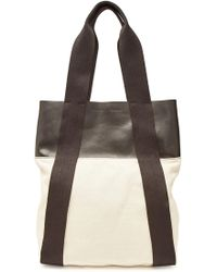 Proenza Schouler - Convertible Small Cotton And Leather Backpack - Lyst