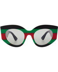 Gucci - Statement Sunglasses - Lyst
