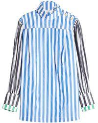 Sonia Rykiel   Striped Cotton Shirt   Lyst