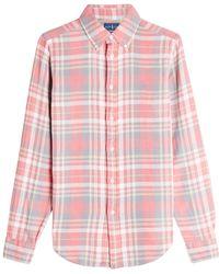 Polo Ralph Lauren - Georgia Plaid Cotton Shirt - Lyst