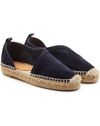 Rag & Bone - Delos Suede Espadrilles With Cut-out Side - Lyst