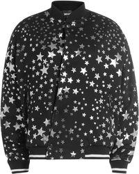 Just Cavalli - Printed Cotton Bomber Jacket - Lyst