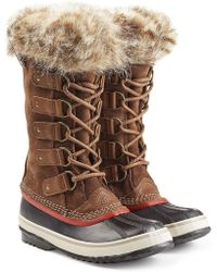 Sorel - Joan Of Arctic Tall Boots With Faux Fur - Lyst