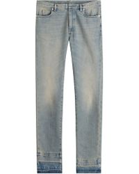 Maison Margiela - Straight-Leg-Jeans aus Baumwolle - Lyst