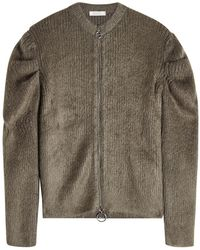Nina Ricci - Zip-up Jacket With Wool And Mohair - Lyst