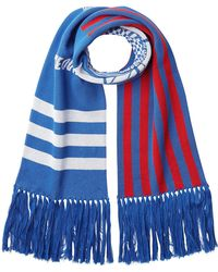KENZO - Cotton Scarf With Fringe - Lyst